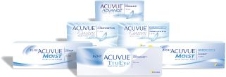Packs de lentilles de contact Acuvue